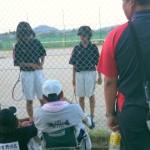 中学ソフトテニス 滋賀県新人戦3Bブロック大会2010