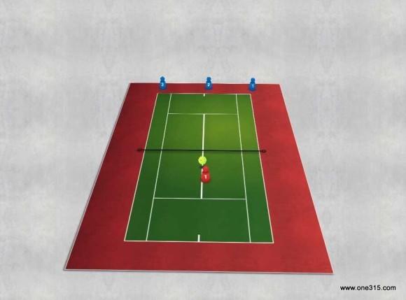 one315ソフトテニス練習会 2015.09.15