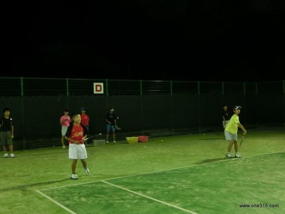 ソフトテニス練習会・エナミ塾5
