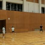 ソフトテニス練習会 2015.09.15