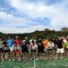 滋賀県ソフトテニス 高校OBOG交流対抗戦2015