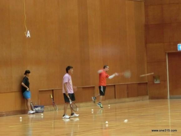 ソフトテニス練習会 2015.09.29