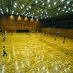 滋賀県近江八幡市・運動公園体育館・テニスコート