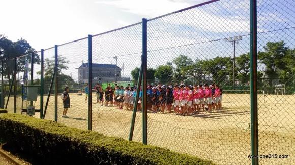 滋賀県守山市ソフトテニス大会 2015.09.12