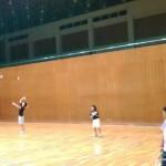 ソフトテニス練習会 土曜日 2015.09.12