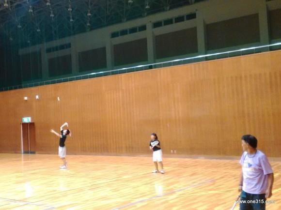 one315ソフトテニス練習会 2015.09.12