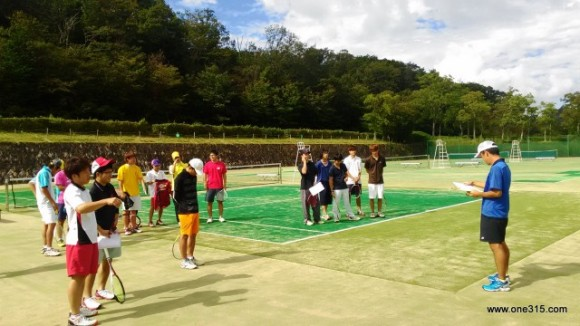 滋賀県高校OBOGソフトテニス大会2015