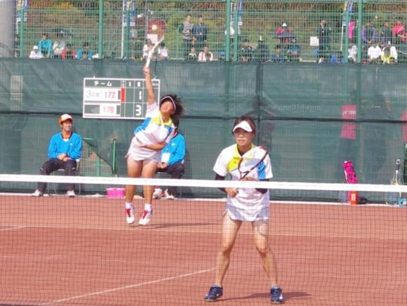 全日本ソフトテニス選手権大会天皇杯皇后杯2015@滋賀 大会2日目
