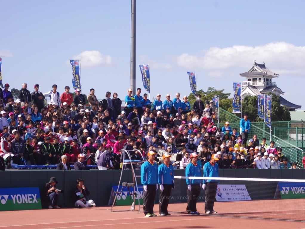 全日本ソフトテニス選手権大会天皇杯皇后杯2015@滋賀 大会3日目