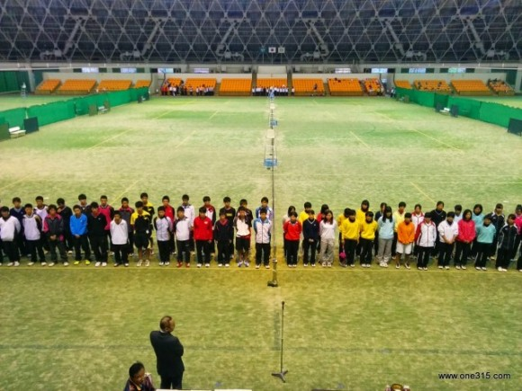 高校ソフトテニス 滋賀県秋季大会2014
