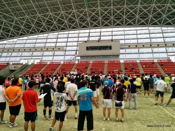 ソフトテニス ヨネックスカップ三重2014.07.21
