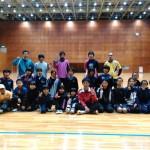 ソフトテニス練習会 2015.12.19 土曜日