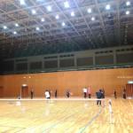 ソフトテニス練習会 2015.12.05 土曜日