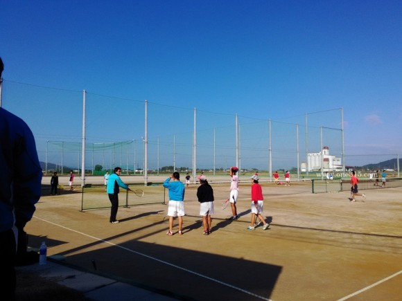 八幡工業高校ソフトテニス部