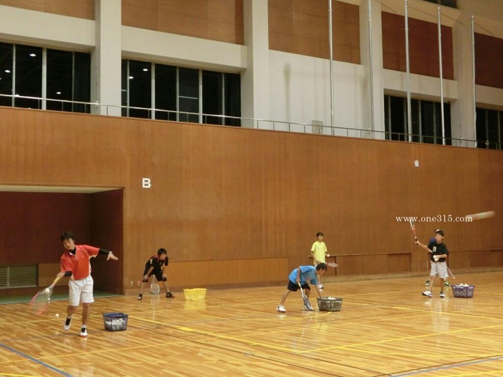 ソフトテニス練習会 2015.06.23