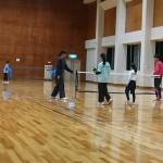 ソフトテニス練習会 金曜日 2016/01/08