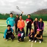 ソフトテニス初打ち2016