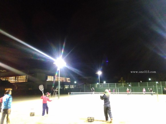 2016/01/14 サン・ビレッジ近江八幡 滋賀県 テニスコート