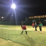 ソフトテニス練習会 木曜日 2016/01/07