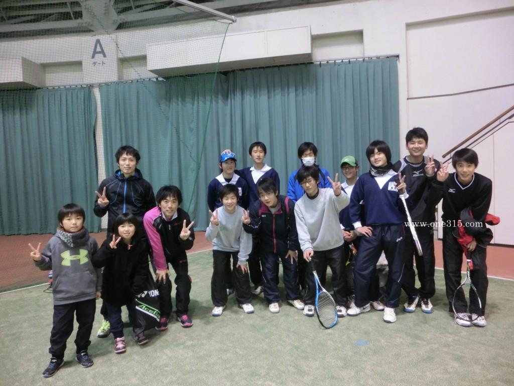 プラスワン・ソフトテニス個別練習会 2016/01/31 長浜ドーム