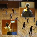 ソフトテニス練習会 土曜日 2016/01/30