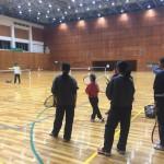 ソフトテニス練習会 火曜日 2016/03/15