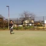 ソフトテニス練習会 金曜日 2016/03/04