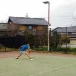 ソフトテニス練習会 月曜日 2016/03/08