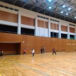ソフトテニス練習会 火曜日 2016/03/22