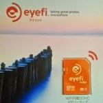 ワイヤレスSDHCカード Eyefi Mobi 8GBを買ってみました。