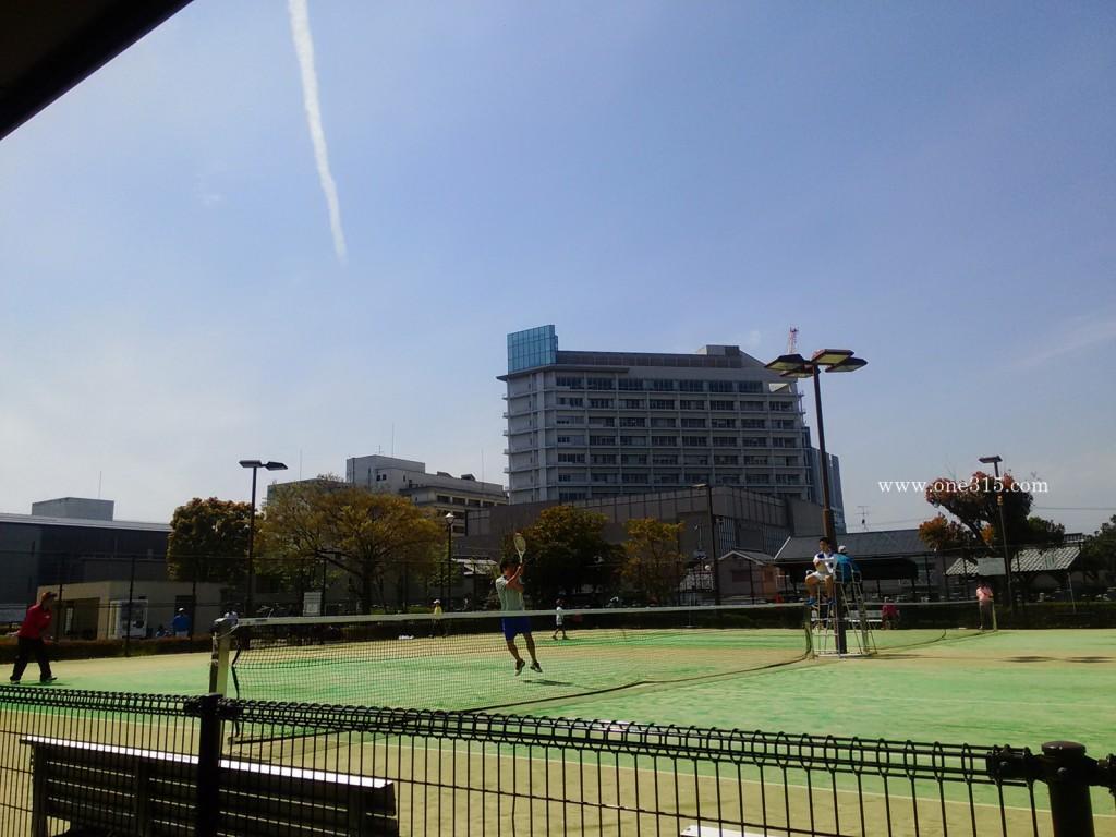2016.04.09 守山市ふれあい公園テニスコート1