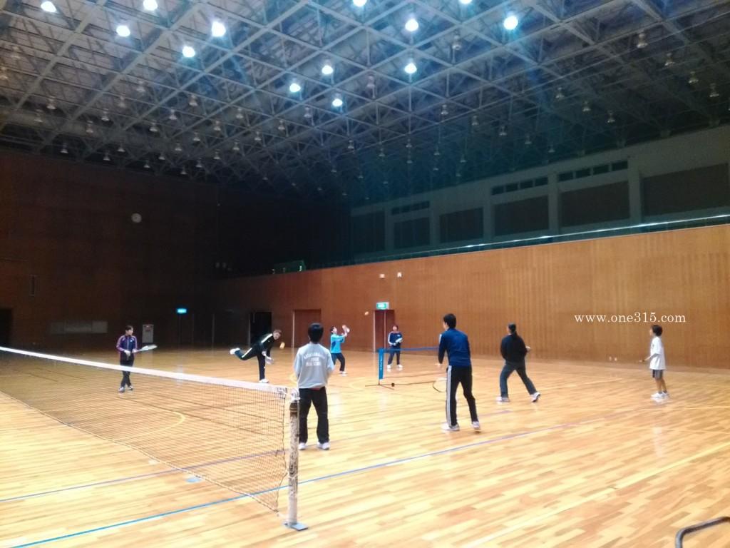 ソフトテニス練習会 2016/04/09 土曜日