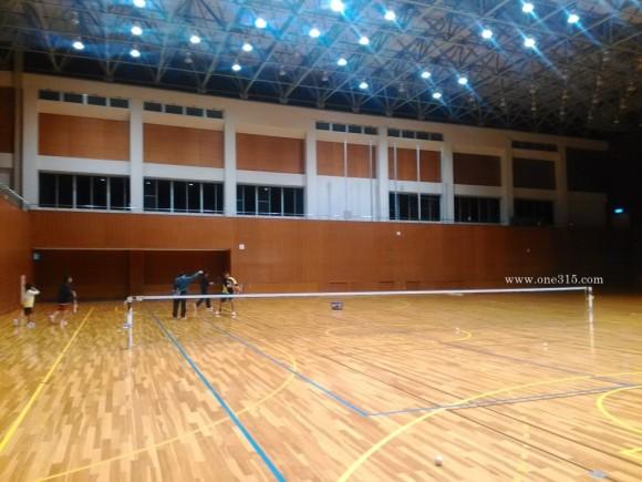 2016.04.05夜の部01 ソフトテニス 小学生 中学生 練習会