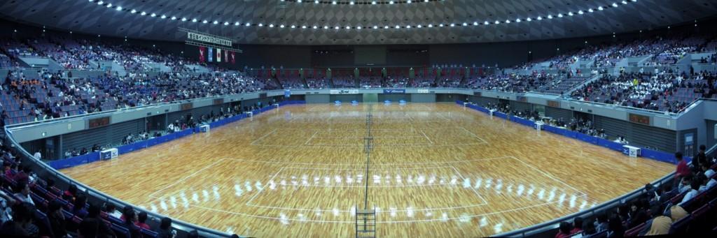 ソフトテニス全日本インドア2010(大阪インドア)大阪府大阪中央体育館