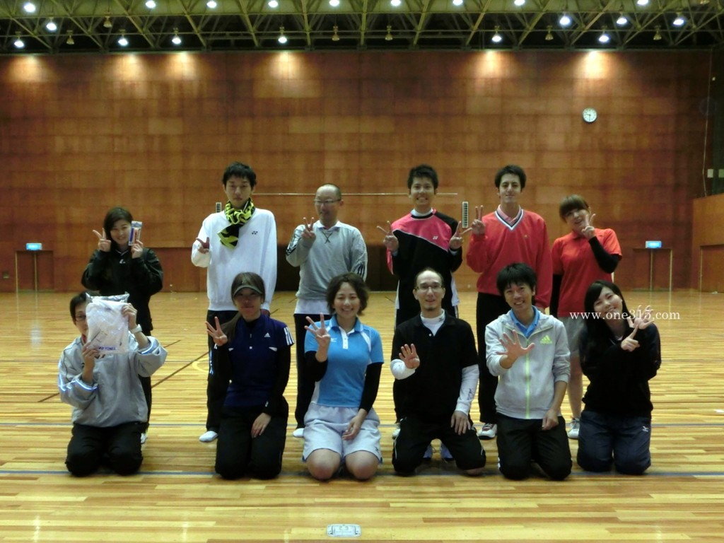 ソフトテニスプチ大会 滋賀県近江八幡市2012.11