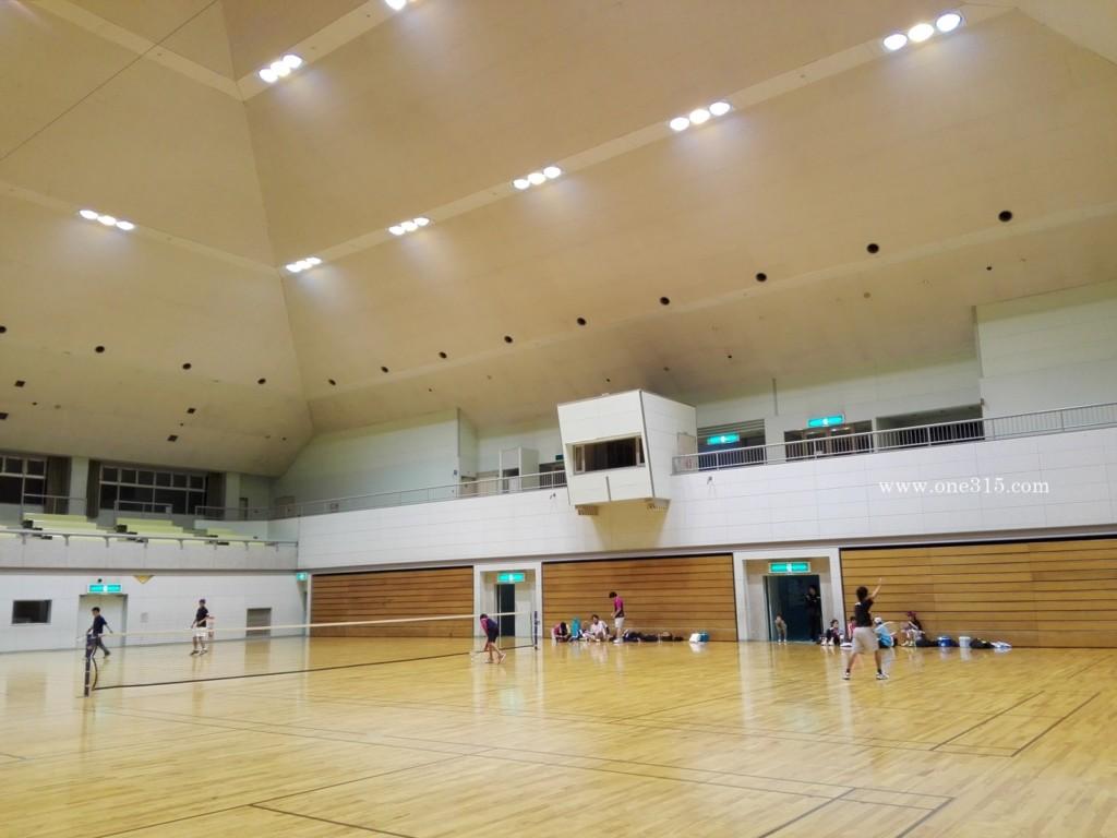 東近江市布引体育館 ソフトテニス