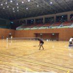 ソフトテニス練習会 火曜日 2016/04/25