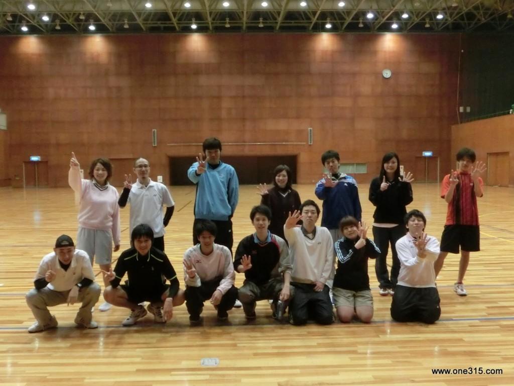 第五回one315ソフトテニスぷち大会~祝卒業~