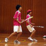 滋賀県ソフトテニス 近江八幡市インドア2012