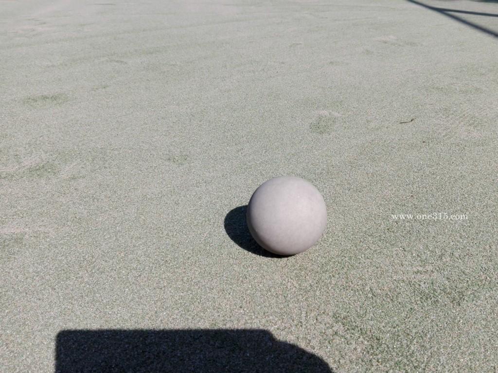 兵庫県姫路市の広畑テニスコート。