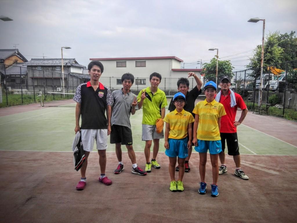 プラスワン・ソフトテニス練習会 2016/06/26