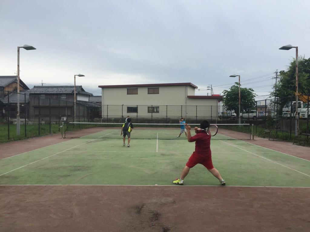 プラスワン・ソフトテニス練習会 2016/06/25
