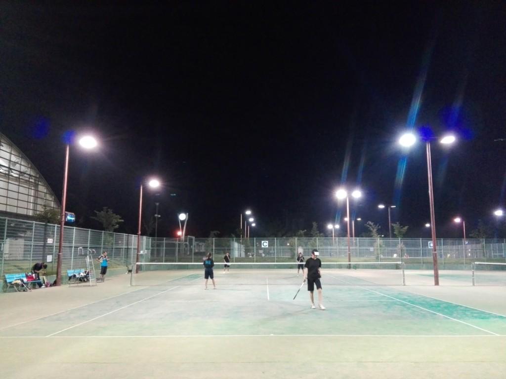 滋賀県東近江市ひばり公園テニスコート