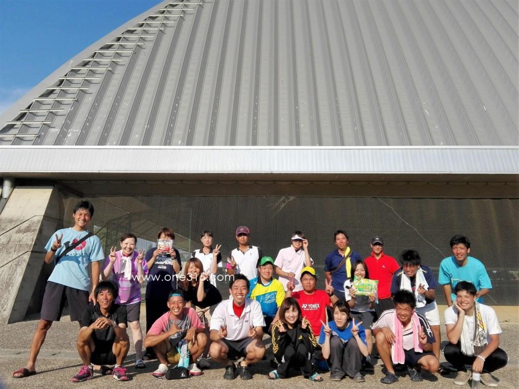 20160731 プラスワン ミックス大会 ソフトテニス 滋賀県