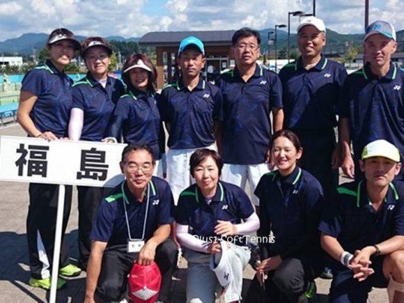 ソフトテニス 日本スポーツマスターズ2016秋田県[結果] 福島県チーム