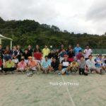 滋賀県ソフトテニス 高校OBOG交流対抗戦2016