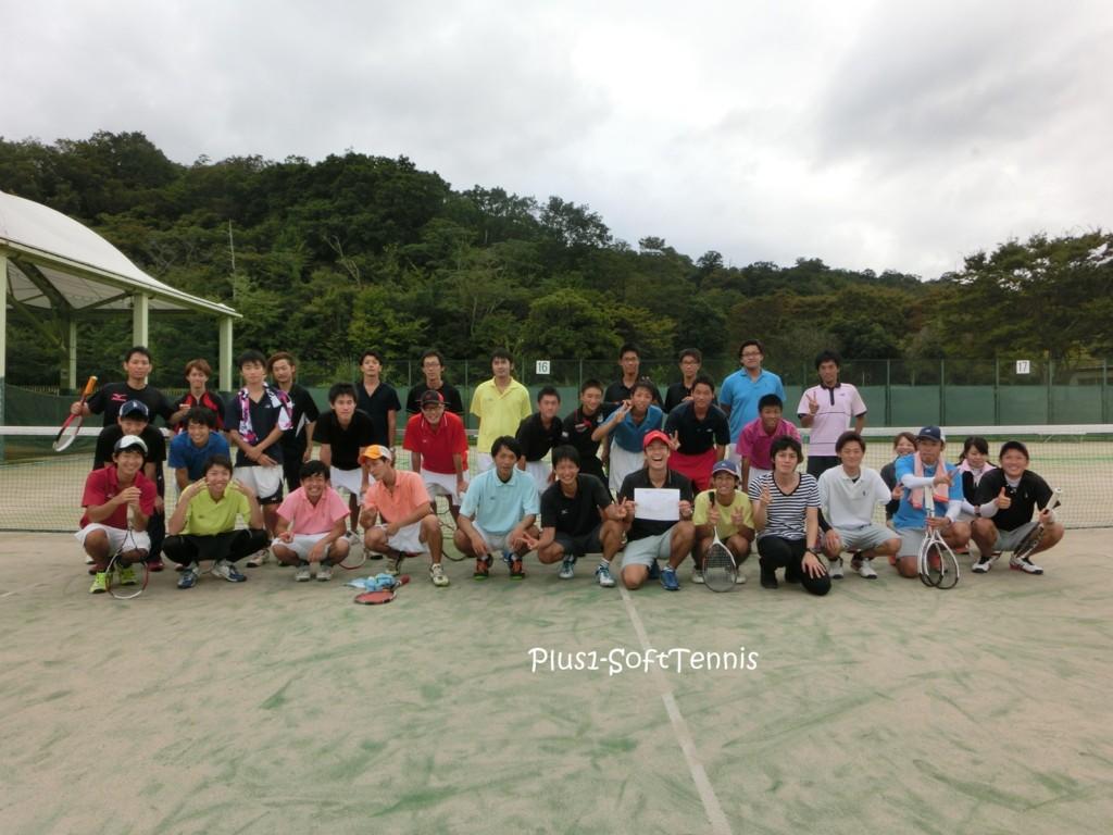 滋賀県ソフトテニスOB・OG・高校2016交流対抗戦 ソフトテニス 滋賀県