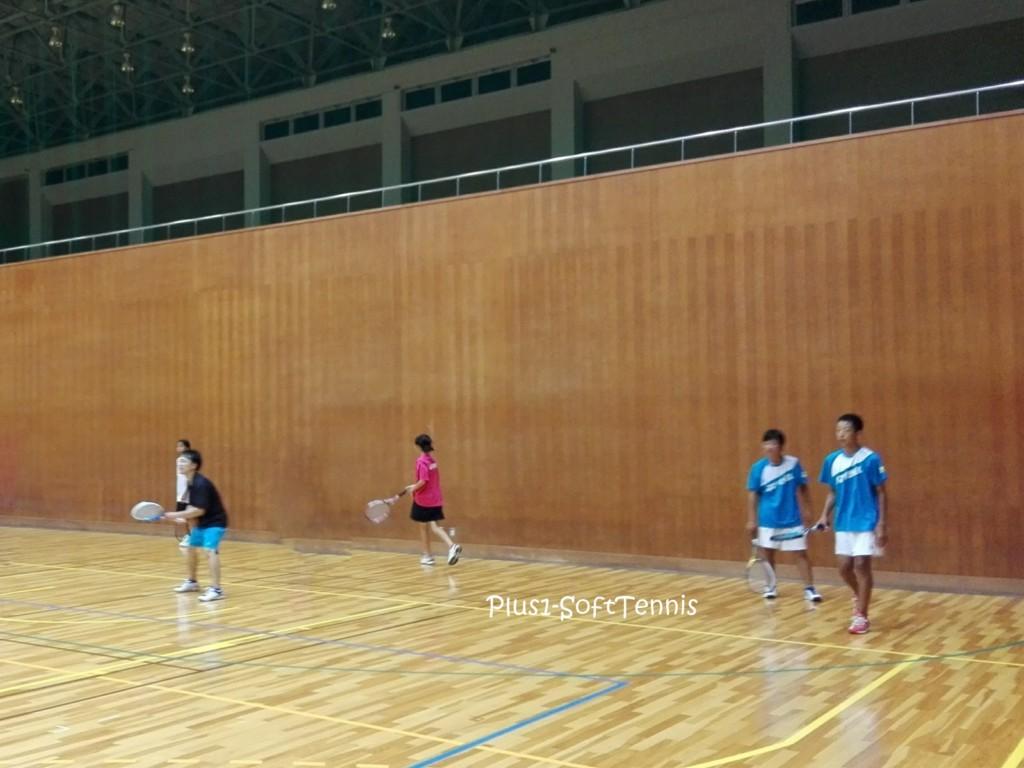 ソフトテニス 練習会 滋賀県