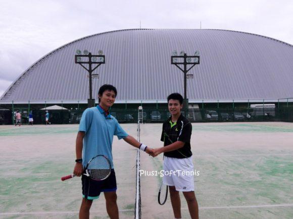 プラスワン ソフトテニス プチ大会 シングルス 滋賀県蒲生郡ドラゴンハット