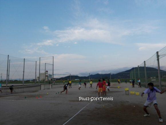 滋賀県近江八幡市 八幡工業高校 ソフトテニス